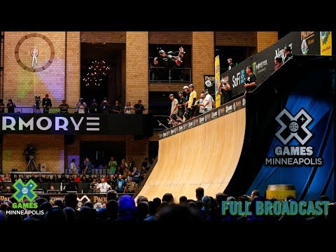 Pacifico Skateboard Vert: FULL BROADCAST | X Games Minneapolis 2019