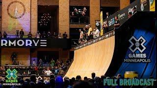 Pacifico Skateboard Vert: FULL BROADCAST | X Games Minneapolis 2019