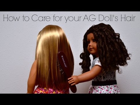 How To Care For Your American Girl Doll's Hair (All Types)