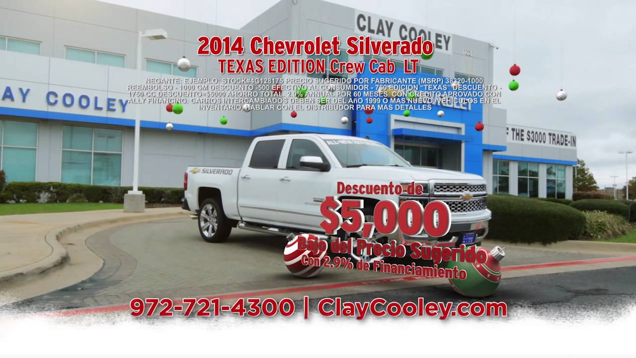 Clay Cooley Chevy >> Clay Cooley Chevrolet Spanish