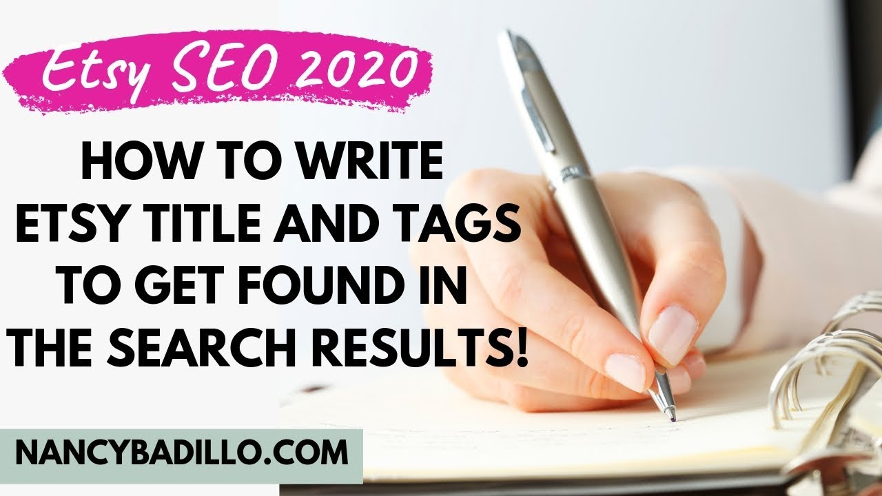 title tag best practices 2020 Etsy SEO 2020   How To Write Etsy Title and Tags To Get Found In