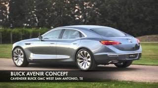 Concept Car: The Buick Avenir West San Antonio, Texas | Cavender Buick GMC Dealership