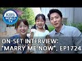 """On-set interview with the cast of drama """"Marry me Now"""" [Entertainment Weekly/2018.07.23]"""