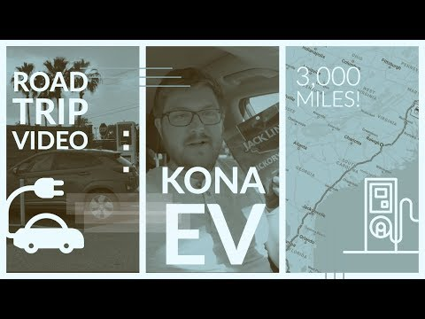 Kona EV US Road Trip | 1,500 Miles (and back) - Pushing the Charging Infrastructure!