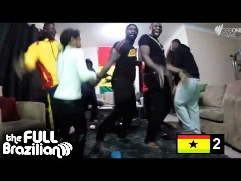The Full B FanTube - Ghana vs Germany