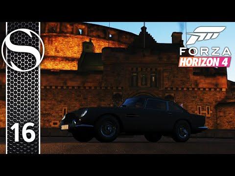 JAMES BOND AND EDINBURGH CASTLE  Forza Horizon 4 Gameplay Part 16