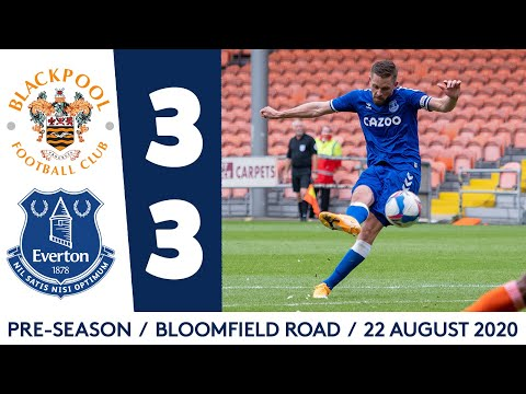 Blackpool Everton Goals And Highlights