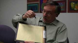 Ken Arnold demonstrates the DigiMemo