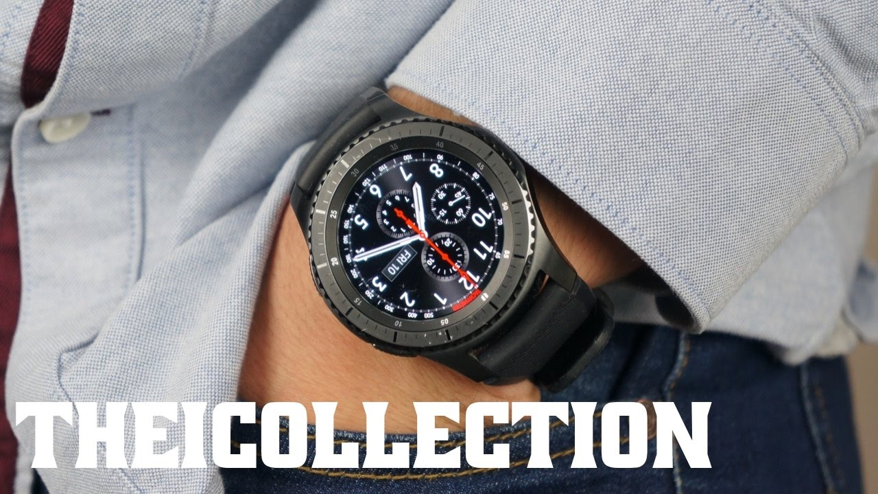 samsung gear s3 la meilleure montre connect e youtube