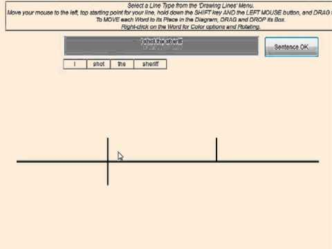 sentence diagramming software ballast resistor wiring diagram traditional create your own