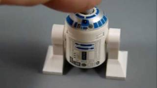 LEGO R2D2 Minifig with Sound and Lights