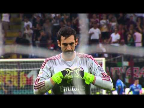 Gol di Luiz Adriano - Milan 2-1 Empoli -  Giornata 2 - Serie A TIM 2015/16