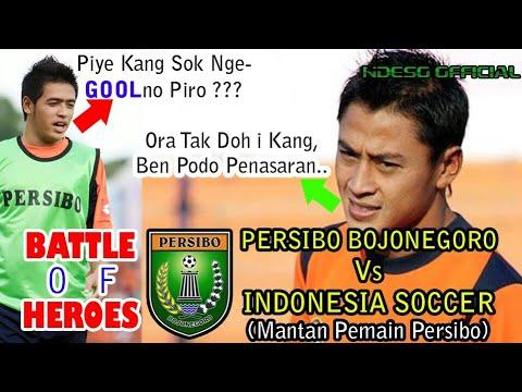 Battle Of Heroes Persibo Bojonegoro Vs Indonesia Soccer   Sport News