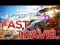 How to Fast Travel in Forza Horizon 4 - Tips and Tricks - Treasure Map