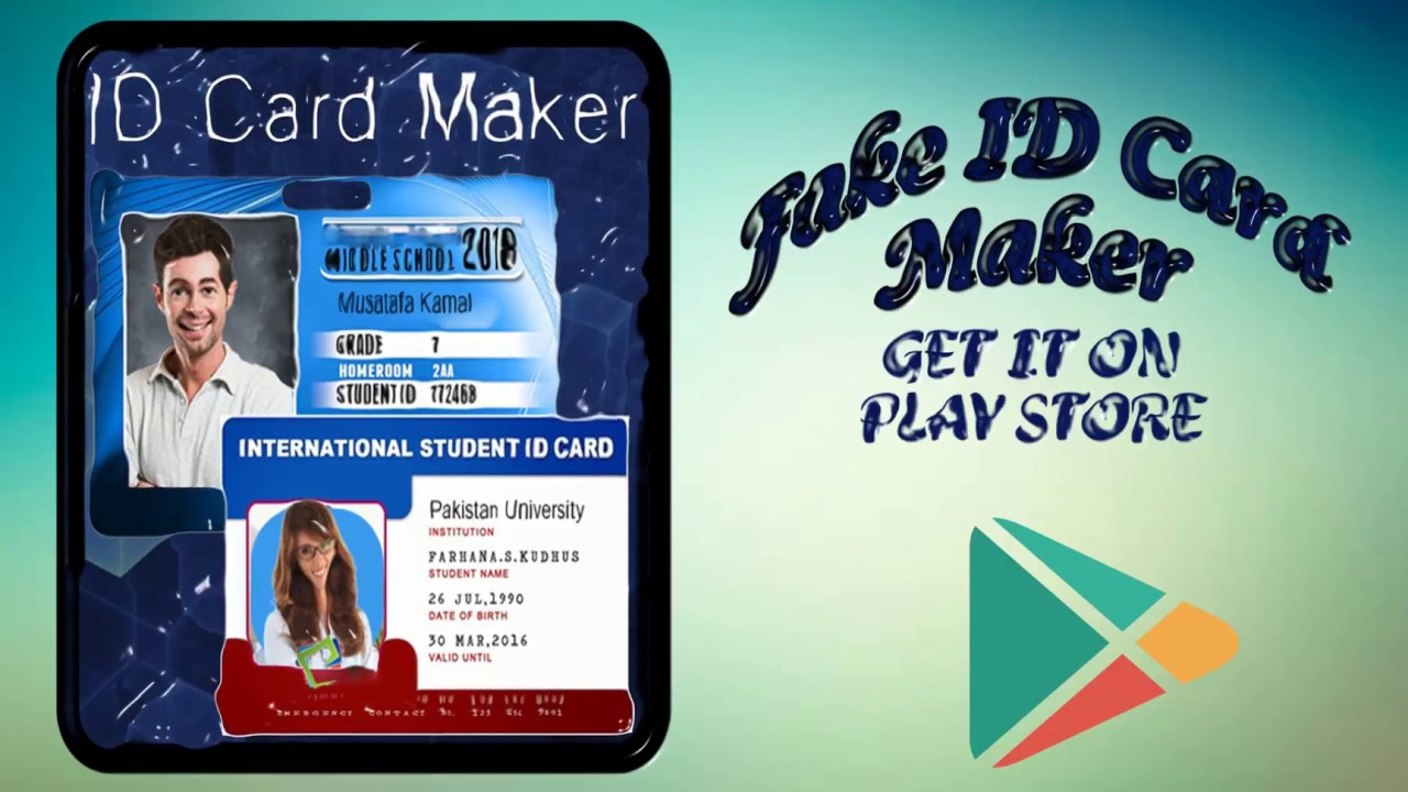 Fake ID Card Maker – Card Making App