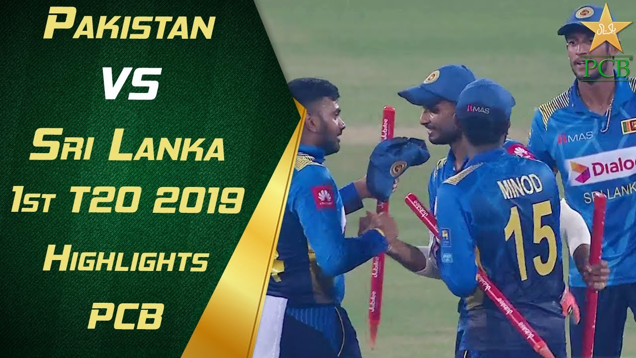 Pakistan vs Sri Lanka 2019 | 1st T20 | Highlights | PCB