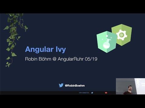 Thumbnail for Angular Ivy von Robin Böhm auf der AngularRuhr 23.05.19