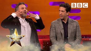 When Mark Ruffalo set someone's face on fire! | The Graham Norton Show - BBC