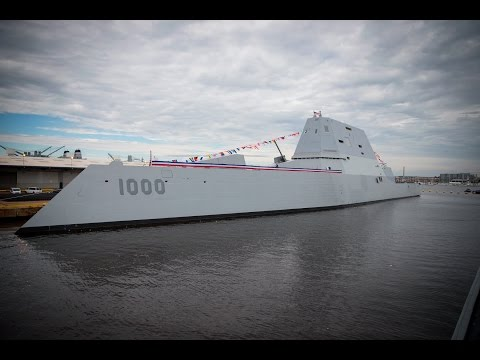 USS Zumwalt (DDG 1000) commissioning