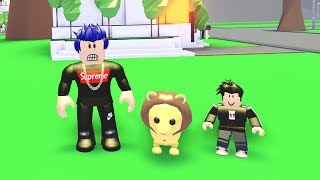 WE GOT A PET! Roblox Family Adventures #6