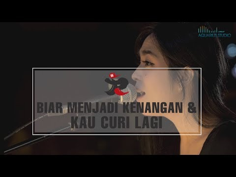 J-Rocks Feat. Prisa - Biar Menjadi Kenangan & Kau Curi Lagi   Live @ Aquarius Studio
