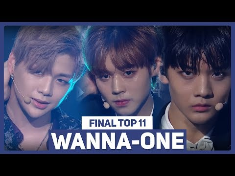 Introducing WANNA ONE   Produce 101 Season 2 EP.11 Final Top 11 Official Ranking