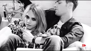 """CARA DELEVINGNE"" for Pepe Jeans London Behind the Scenes Fall Winter 2014"