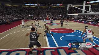 PS2 - NBA Live 2005 - GamePlay [4K:60FPS]
