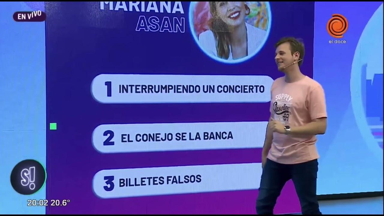 Fito Páez la hizo callar a Marianita Asan en un show