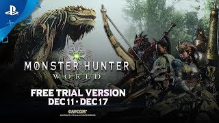 Monster Hunter: World - Free Trial Trailer | PS4