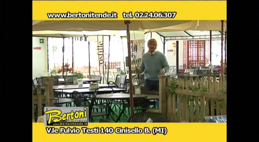 Bertoni Arredo Giardino Milano.Bertoni Campeggio Sport Arredi Per Terrazze E Giardini Youtube