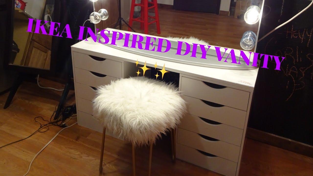 Ikea Hack Simple Diy Vanity Table