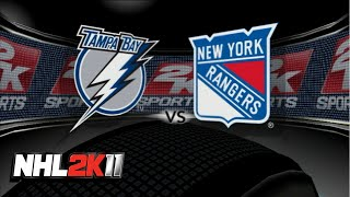 NHL 2K11 - Updated TB Lightning Roster