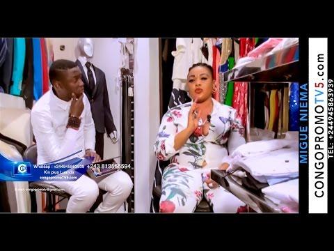 L'artiste comédienne Gabrielle très fâché depuis Angola abimisi ba vérité ya Ursile Pechanga