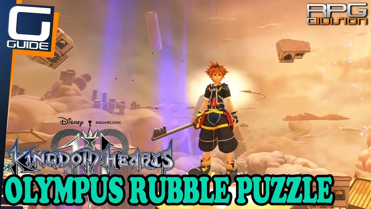 quality free shipping best place KINGDOM HEARTS 3 - Olympus Rubble Jumping Puzzle Guide