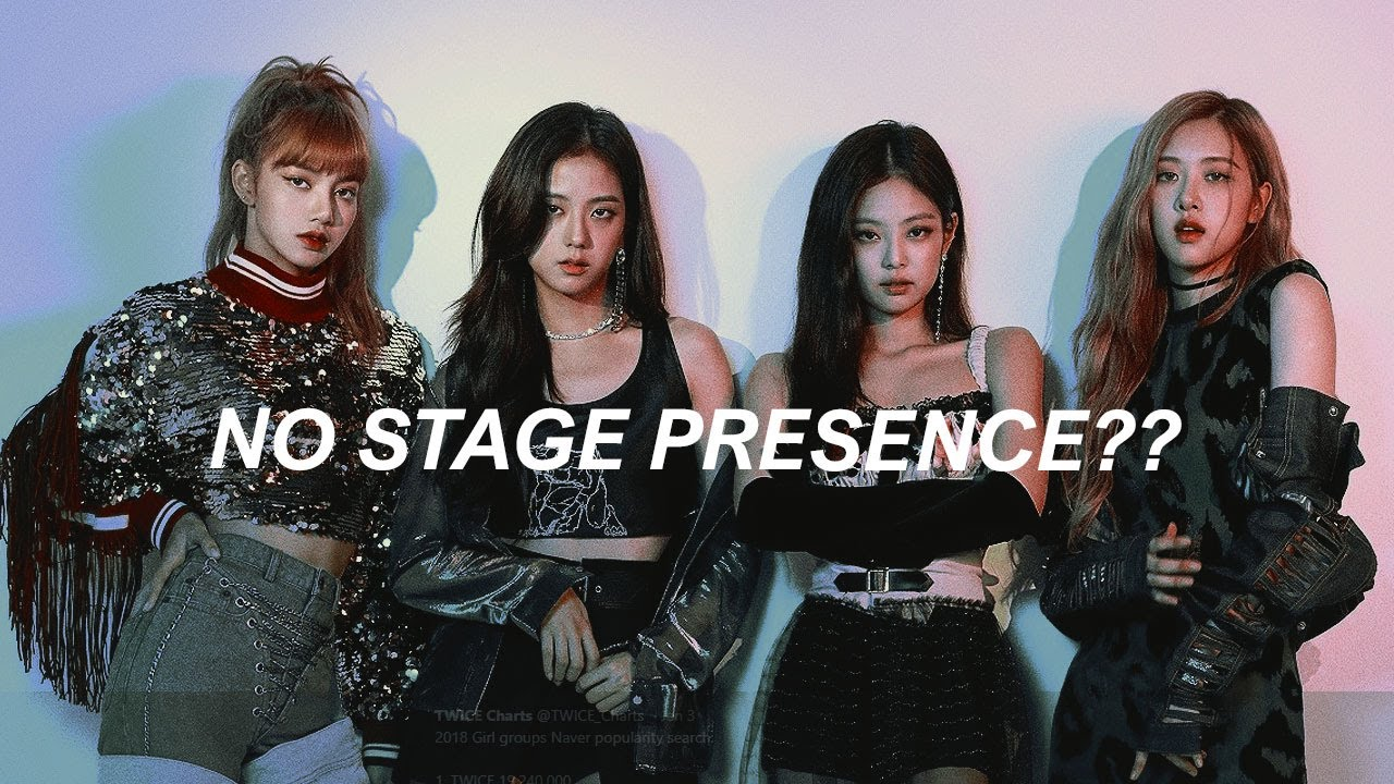 BLACKPINK having the best stage presence for 30 minutes straight