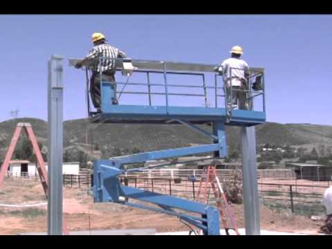 Outback Steel Buildings 11 Install Eave Purlins And