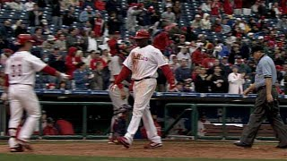 Ryan Howard homers on Opening Day 2006