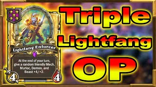 Hearthstone Battlegrounds: Triple Lightfang | Is It Good Enough For Now? This Is What Happened!