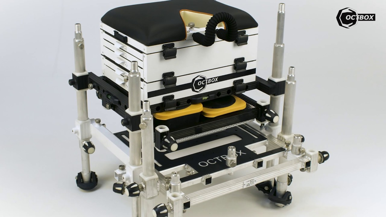 Octbox Seat Boxes are engineered to give Match Anglers more