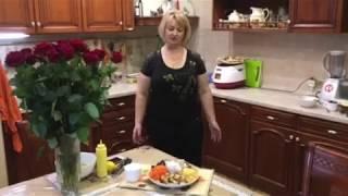 """Салат с черносливом и сухариками """"Праздничный""""."""