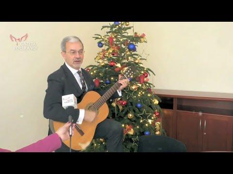 Nasza akcja: Minister Kwieciński z gitarą