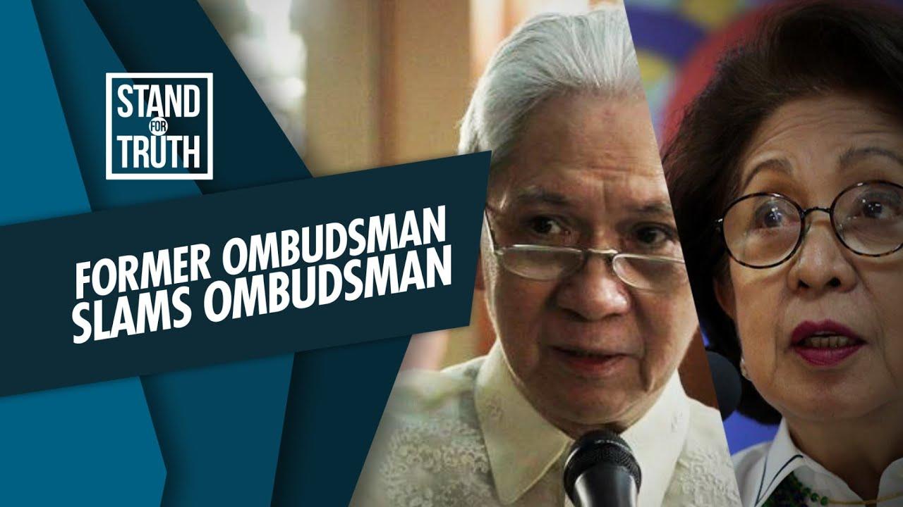 Stand for Truth: Former Ombudsman, may buwelta sa aksyon ni Ombudsman Martires!
