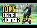 Top  5 Best Electric Scooters With Seat For Adults