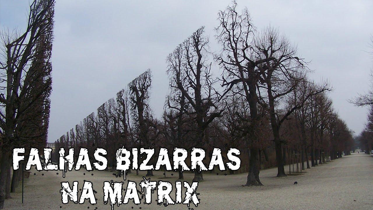FALHAS BIZARRAS NA MATRIX DA VIDA REAL