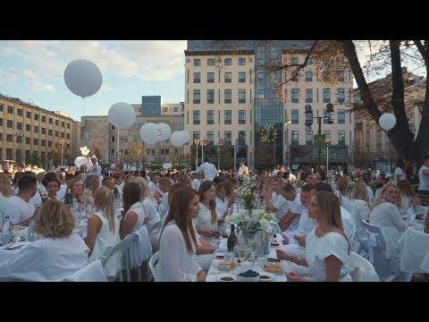 Diner en Blanc - Vilnius 2019, Official Video