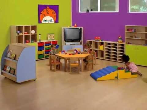 Equipamiento escuelas infantiles youtube for Mobiliario para escuelas