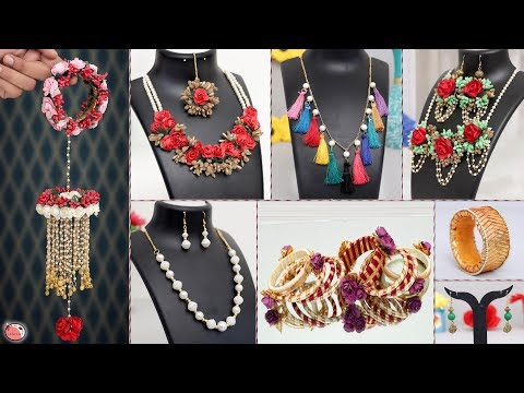 Only for Ladies... 8 Handmade Jewellery Making !!! Beautiful Designer Jewelry