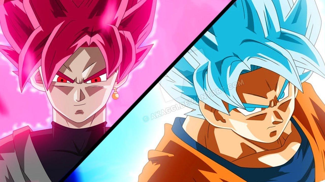 Goku Ssj4 Vs Goku Ssj3: GOKU SSJ ROSE VS GOKU Y VEGETA SSJ BLUE