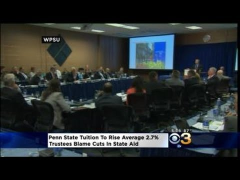 Penn State Students To Pay More In Tuition